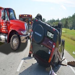 ROLLOVER AND WRECK TOWING