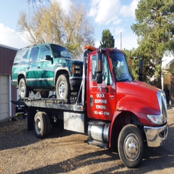 SUV FLATBED WRECKER SERVICES